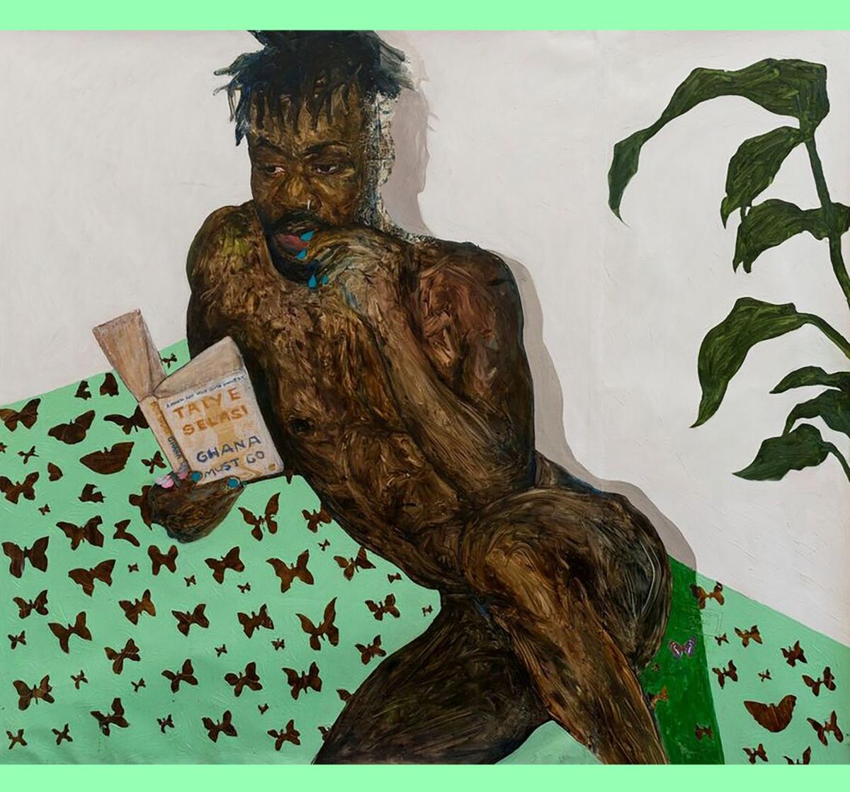 Amoako Boafo solo exhibition – WE DEY